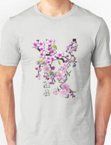 Japanese Cherry Blossoms Unisex T-Shirt