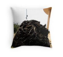 LONDON GARDEN 12 ~ Where Food Fails - Ant Homes Thrive Throw Pillow