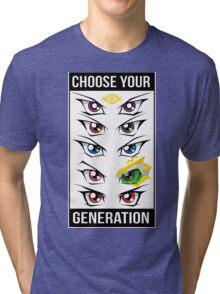 Yu-Gi-Oh! Eyes Tri-blend T-Shirt