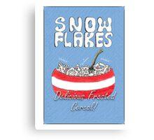 Christmas Jumper (Snow Flakes) Canvas Print
