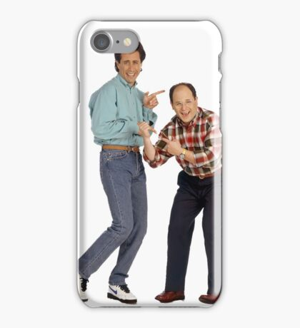 George and Jerry iPhone Case/Skin