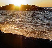 Sunset Splashes by Karen Karl