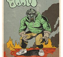 MF DOOM x Adidas by CliqueOne