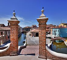 Comacchio Viewed by Trepponti Bridge by paolo1955