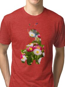 Meganium used petal blizzard Tri-blend T-Shirt