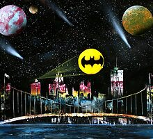 Spraypaint Gotham by coleton28