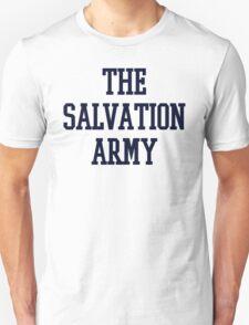 salvation army college navy blue Unisex T-Shirt