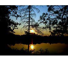 Porterfield Lake Photographic Print