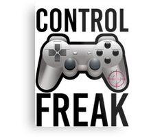 Control Freak Pun Video Game Controller Gamers Metal Print