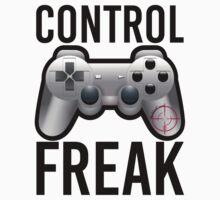 Control Freak Pun Video Game Controller Gamers by mralan