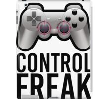 Control Freak Pun Video Game Controller Gamers iPad Case/Skin