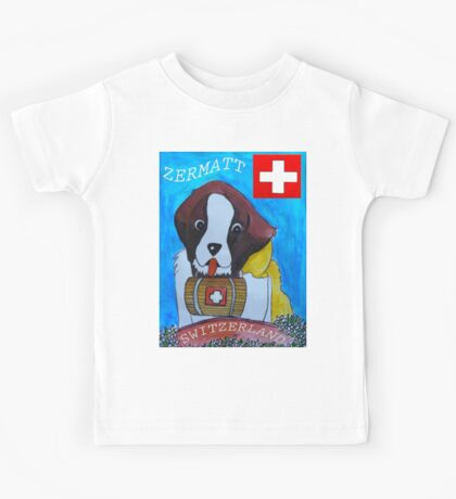 St Berbard Switzerland Kids Clothes