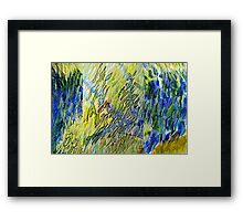 Water Study 11 (Colour) Framed Print