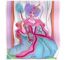 Cotton Candy Queen Poster