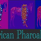Triple Crown Champ American Pharoah Pop Art by Ginny Luttrell
