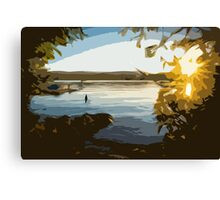 Summers Edge Canvas Print
