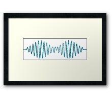 Arctic Monkeys - Arctic Blue Framed Print