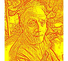 THE ARTIST AS AN OLD MAN Photographic Print