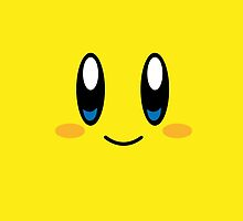 Kirby Face (Yellow) by samaran