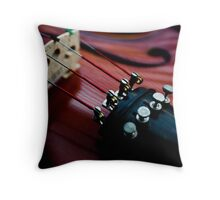 Light Strings Throw Pillow