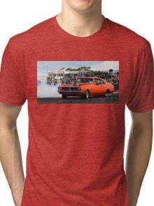 DIZYHG Tread Cemetery Skid Tri-blend T-Shirt