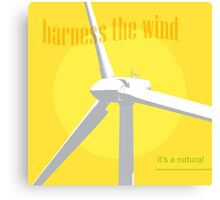 Harness The Wind Canvas Print