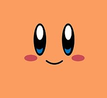 Kirby Face (Orange) by samaran