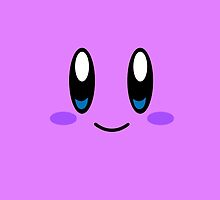 Kirby Face (Purple) by samaran