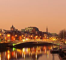 Morning on the Liffey by Patrick Horgan