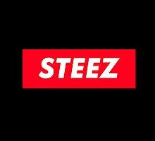 CAPITAL STEEZ SUPREME CLOTHING BRAND LOGO by SourKid