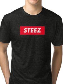 CAPITAL STEEZ SUPREME CLOTHING BRAND LOGO Tri-blend T-Shirt