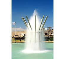 Fountain on the Prom Photographic Print