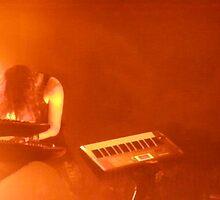LONDON NIGHT 5 NIGHTWISH ~ ORANGE SILHOUETTE by Tuartkatz