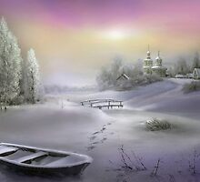 Winter Landscape by Igor Zenin