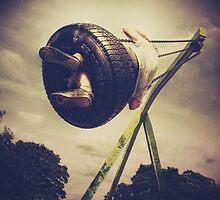 Tyre Swing by Nikki Smith