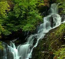 Torc Waterfall by Stephen Lawlor