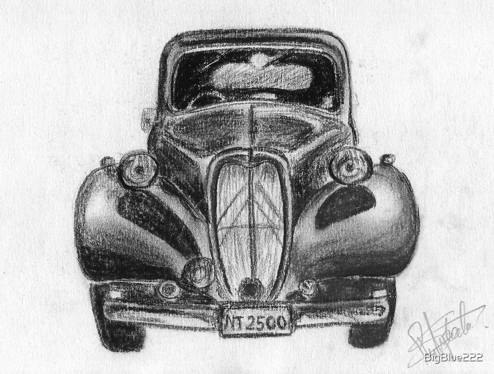 1937 Citroen - Classic Car by BigBlue222
