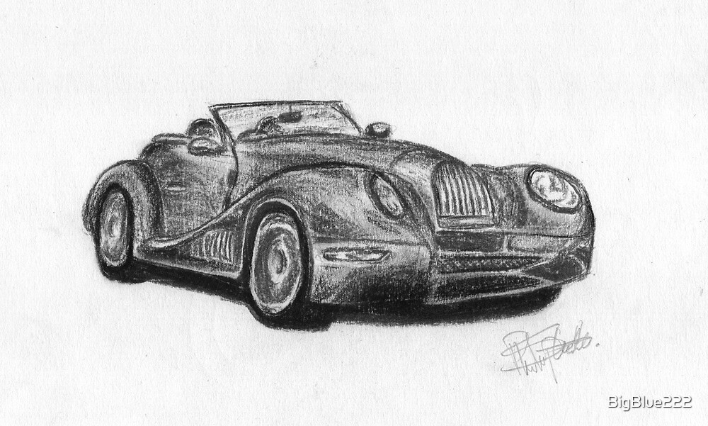 Morgan Aero  - Sports Car by BigBlue222