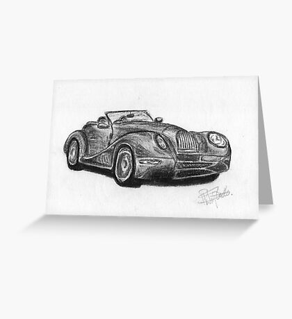 Morgan Aero  - Sports Car Greeting Card