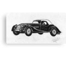 Morgan Roadster - Sports Car Canvas Print