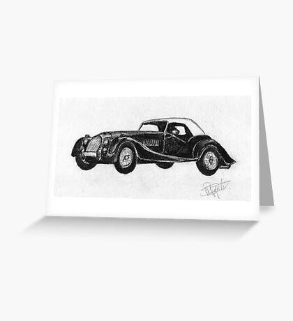 Morgan Roadster - Sports Car Greeting Card