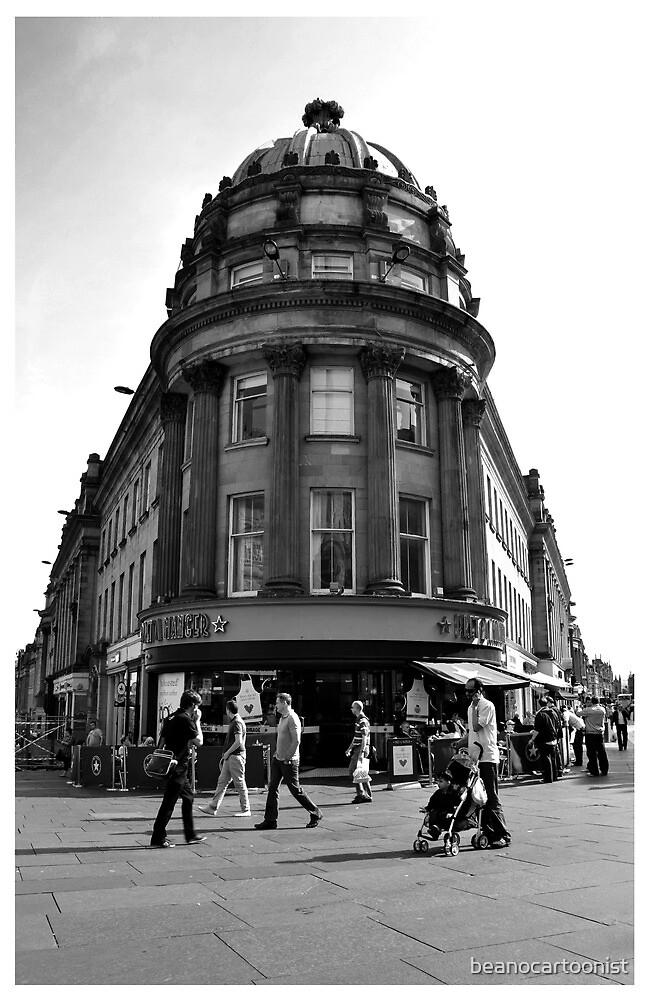 The Central arcade by beanocartoonist