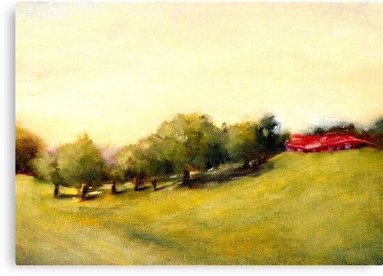 Costa Rica Meadow by Monica Vanzant