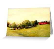 Costa Rica Meadow Greeting Card