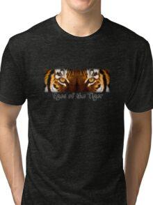 Eyes of the Tiger Tri-blend T-Shirt