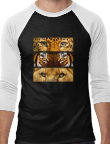 Eyes of Extinction Men's Baseball ¾ T-Shirt