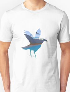 Raven in the valley T-Shirt
