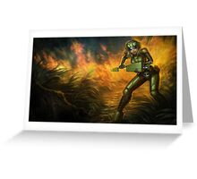 Commando Lux - League of Legends Greeting Card
