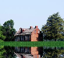 The Old Brick House On the Lake by barnsis