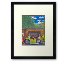 Timing Is Everything-32 Ford hot rod Framed Print